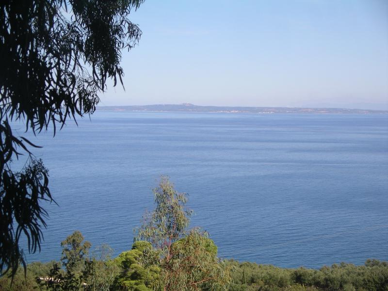 Panoramic view of the mainland.