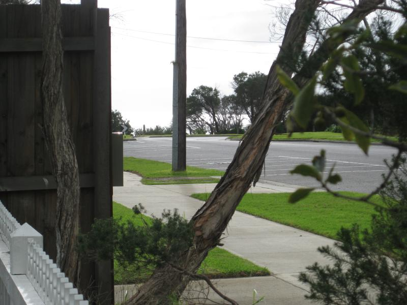 Front fence and beach