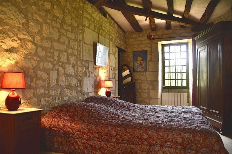 Le Jardin d'Hiver, chambre en mezzanine