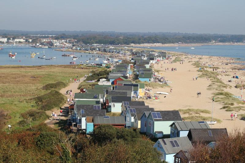 Mudeford beach and Chalets just 15 minutes away