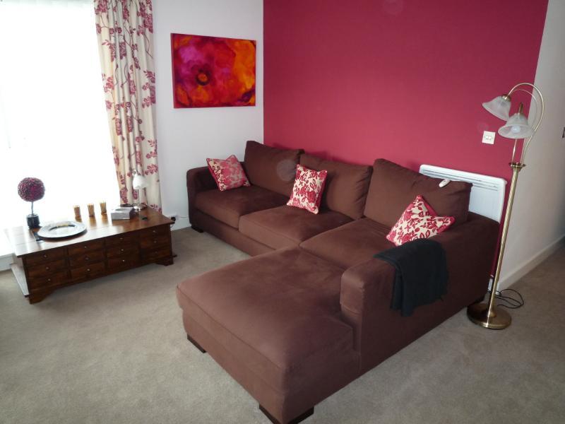 Large and comfortable corner sofa