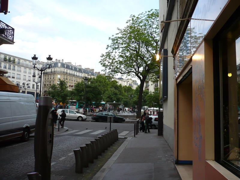the apartment's street
