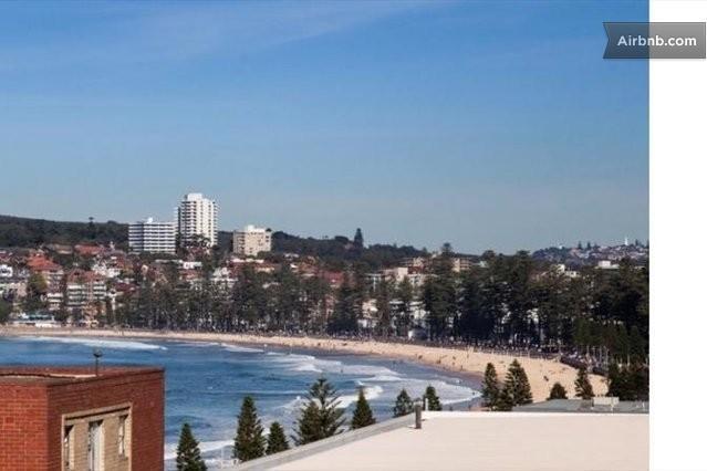 Fabelhafte Aussicht und nur wenige Minuten zu Fuß zum Strand, Cafés, Parks, Geschäfte und Manly Lifestyle.