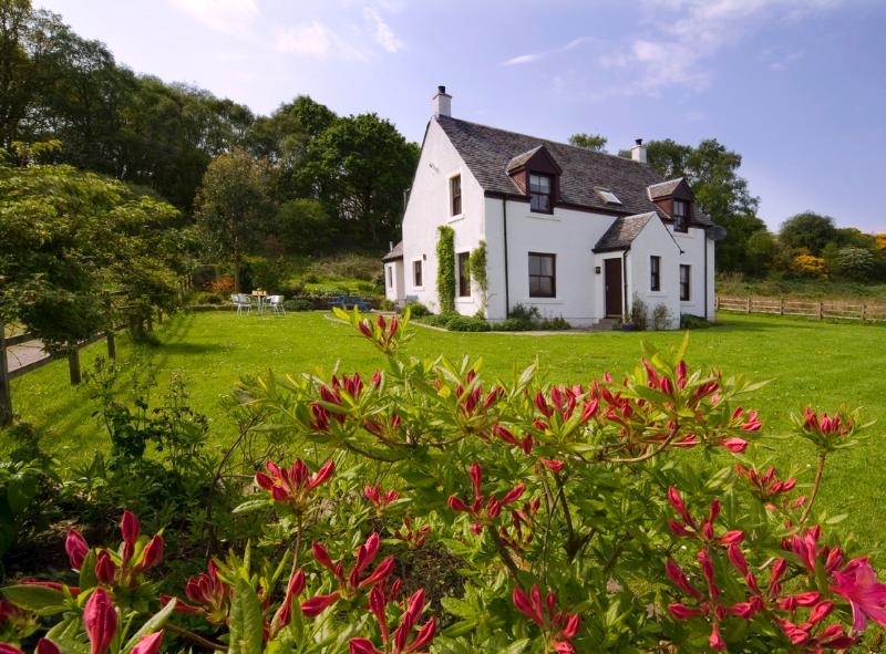 Seabank farmhouse and large garden