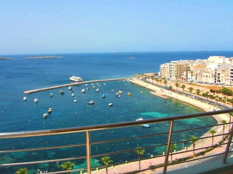 Fantastic view of St. Pauls Marina.