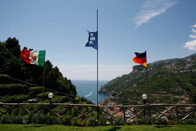 View on Amalfi coast
