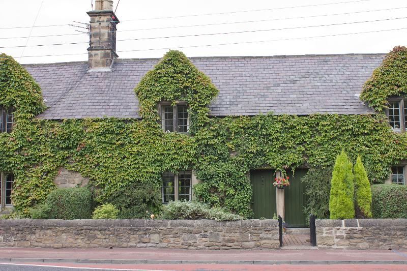 Front view of this beauoful listed building