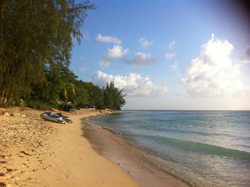 Almond beach( local beach) just a very short walk away from villa