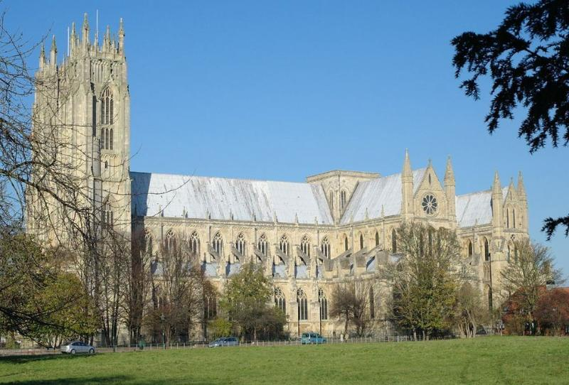 Lovely Beverley Minster can be viewed from bedroom