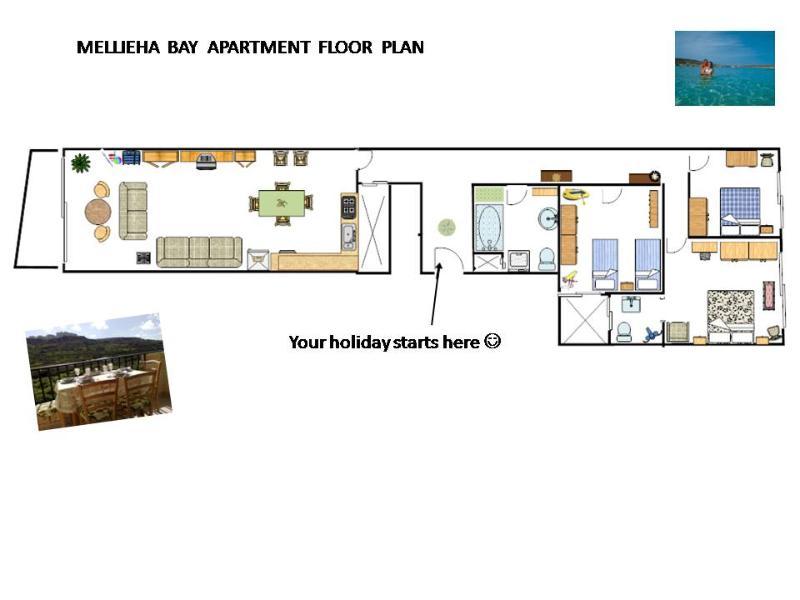 Apartment Plan  - area of 154 sq.m.