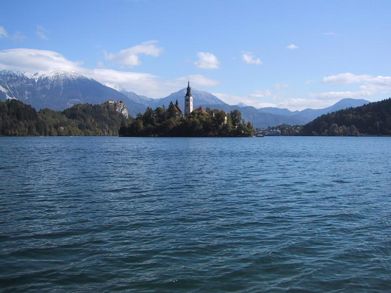 View on Lake Bled
