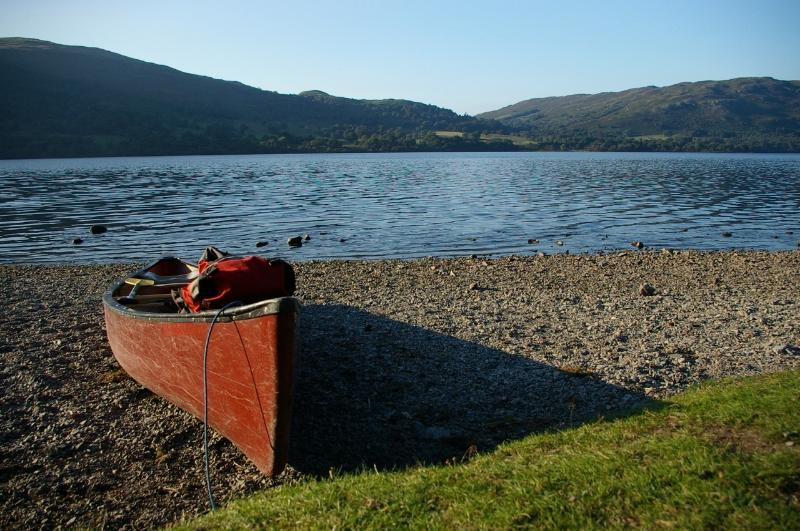 Canadian canoeing - rent from Glenridding