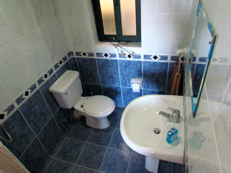 En-Suite Bathroom with Shower, wash hand basin and wc