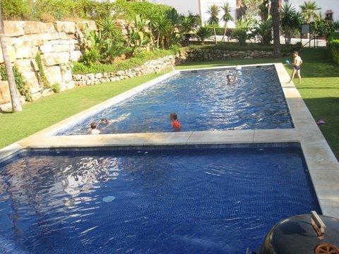 Kiddies Pool & Main Pool