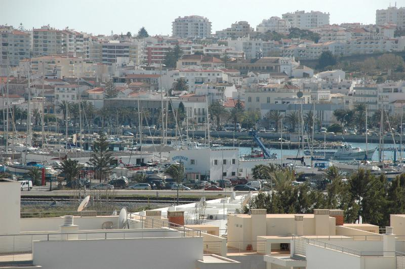 View towards the Marina from the apartment balcony