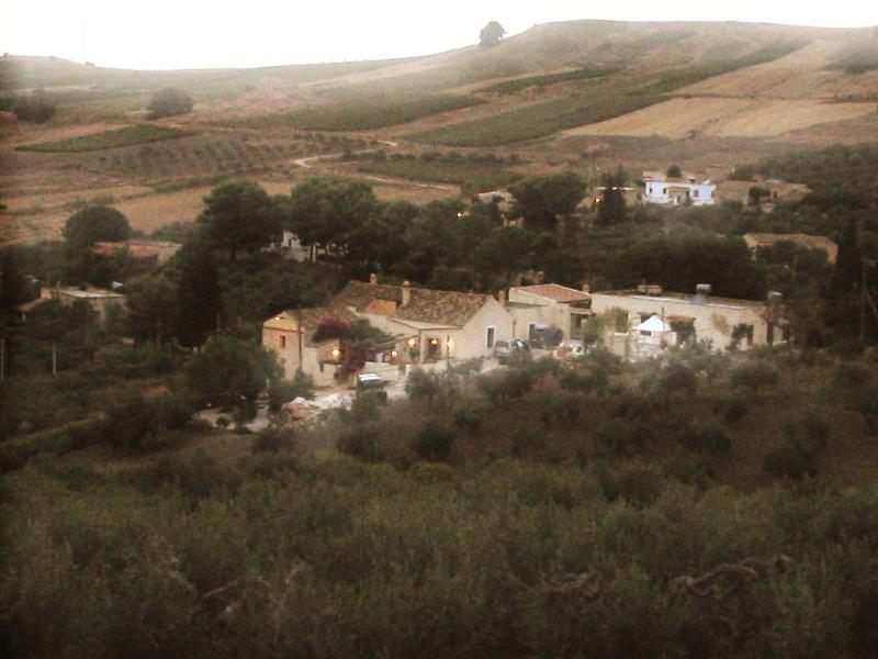Vista dall'alto di Casa Adriana