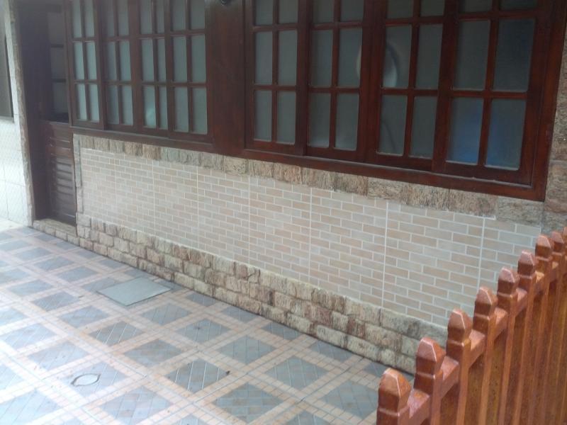 Balcony in the back