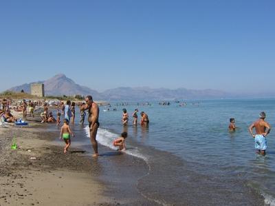 spiaggia della strutttura
