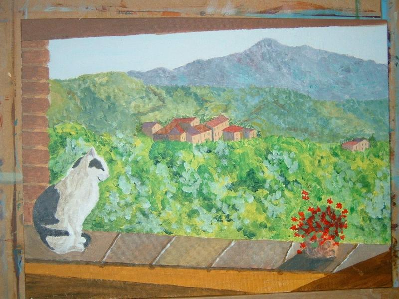 Umbria and Casa Fontana bring out the artist in us all