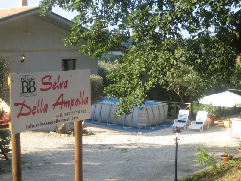 SELVA DELLA AMPOLLA, Ferienwohnung in Villa Oliveti