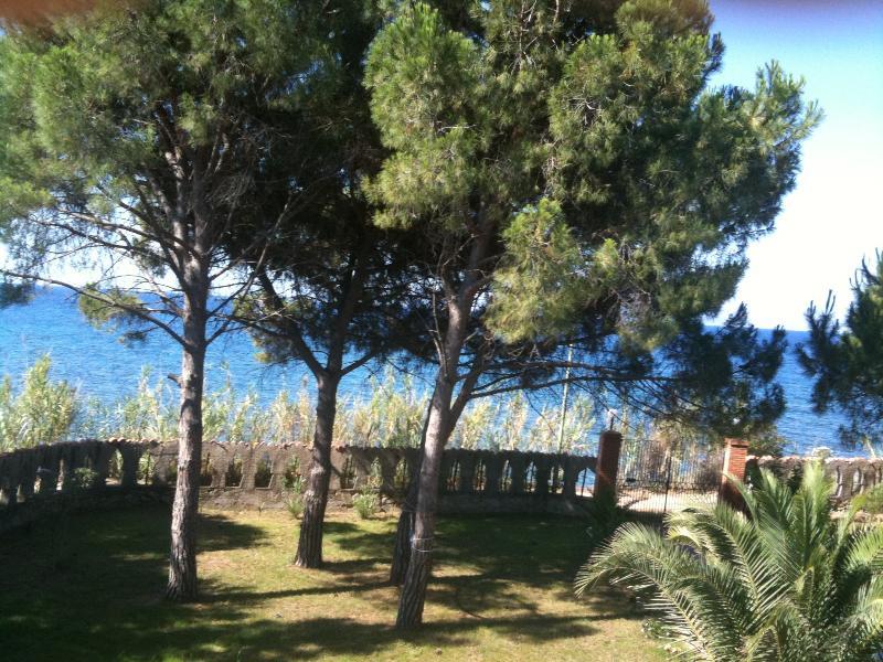 panorama dalla terrazza della camera daletto