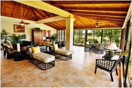 Terraza / sala de estar