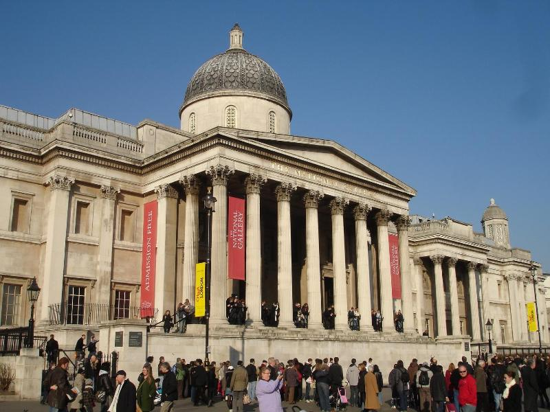 National Gallery in Trafalgar Square - 40 minutes stroll through theatreland. Free entry to gallery.