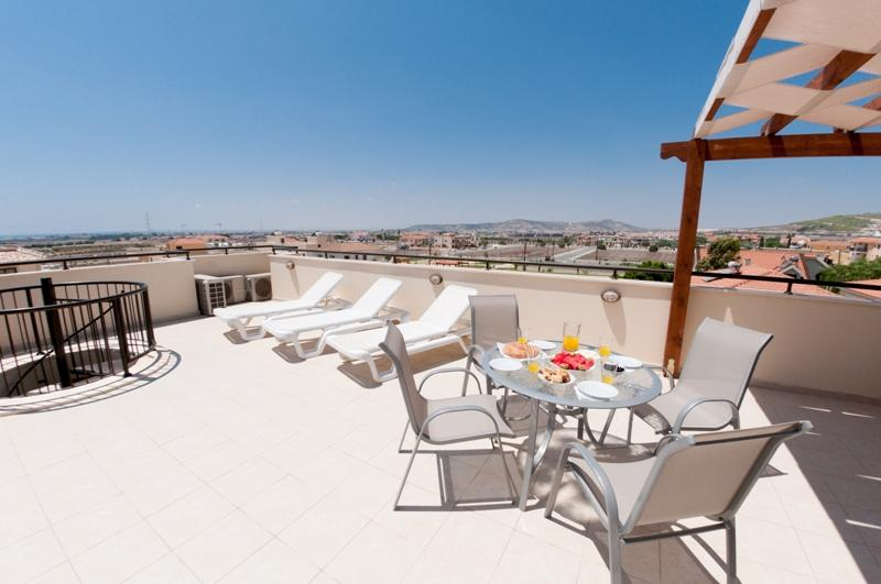 Roof Top terrace overlooking the mountains and coastal views