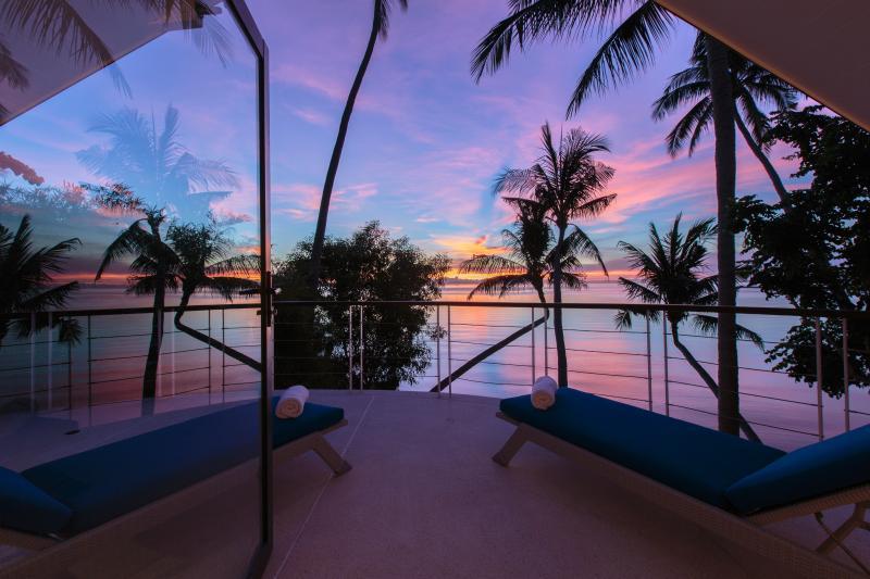 Splendida vista mare e tramonto dal loft