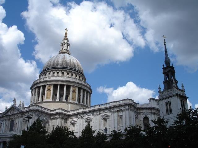 St Pauls Cathedral - 20 minutes walk east of John Street. A must-see, even if you don't go inside.