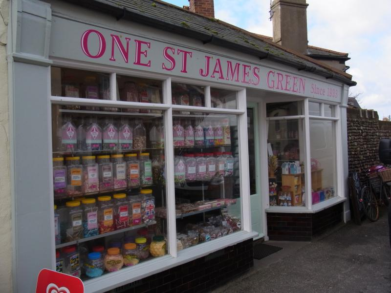 one of Southwolds independant shops