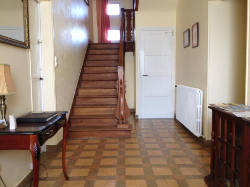 Entrance hall to Le Clos Castel
