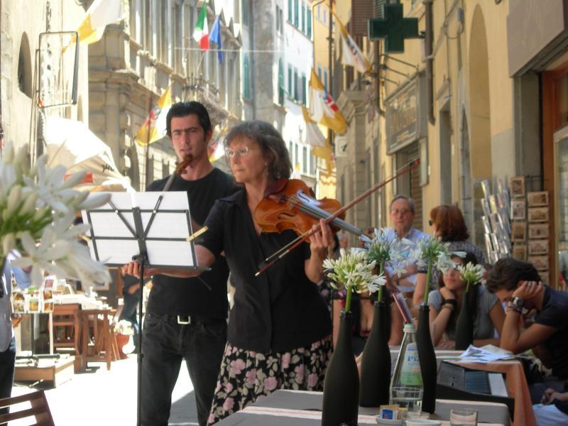 Street Life in nearby Cortona