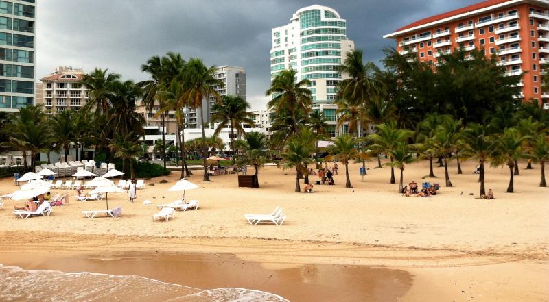 Condado Beach, four minutes walking distance