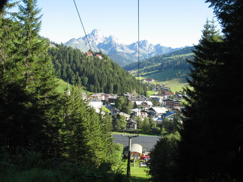 View of Filzmoos from the Mountain