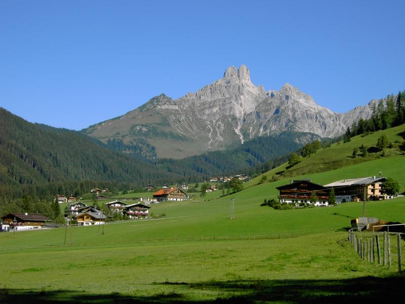View of the Bischofsmutze