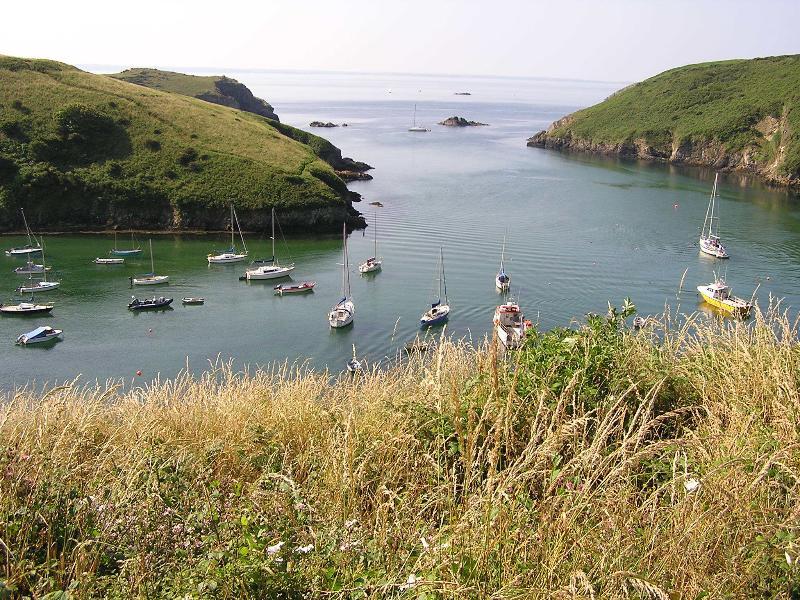 Pembrokeshire Coastal Path to Solva (2 minutes walk away)