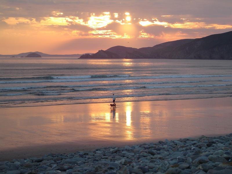 Sunset at Newgale Beach (10 minutes drive away)