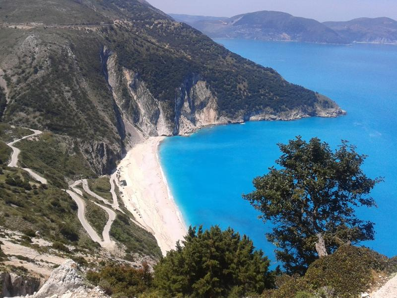 World Famous Myrtos Beach 25 Minute Drive