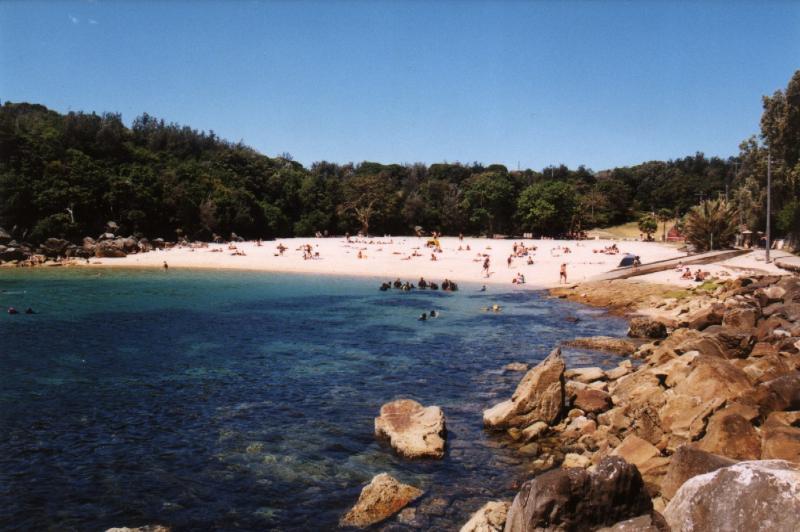 Take the short coastal walk to Shelly beach