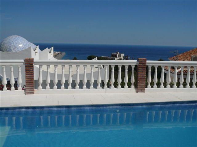 The Mediterranean from the Pool Terrace