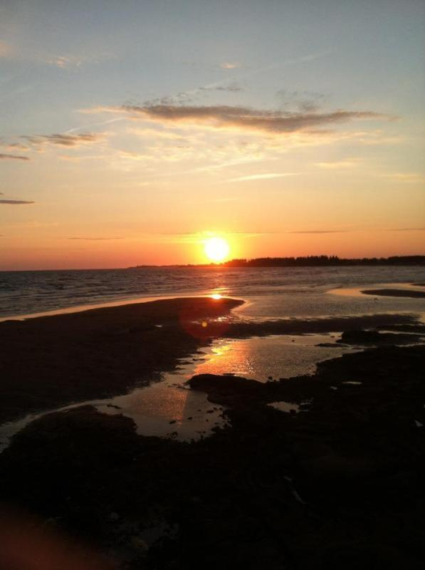 Chelton Beach Sunset