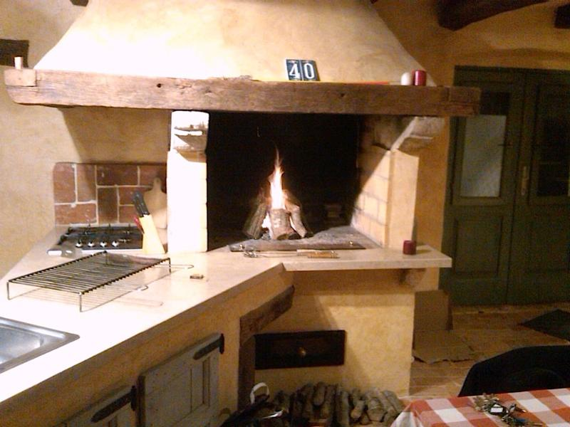 Kitchen w/ traditional furnace