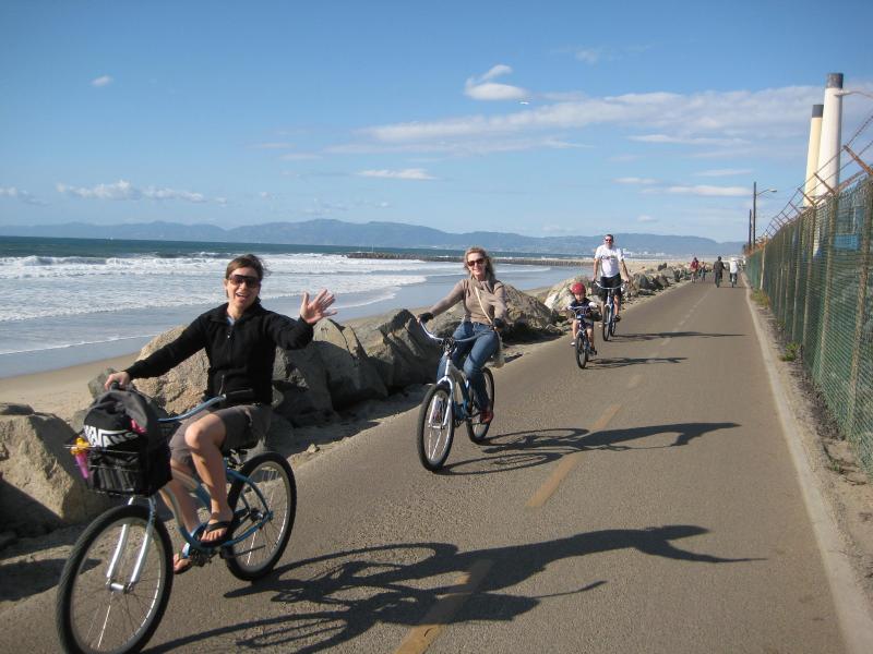 Equitazione bicicletta in spiaggia chiamato il Strand..35 miglia di guida