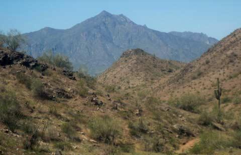Muitas HikingTtrails uma curta distância a pé do condomínio