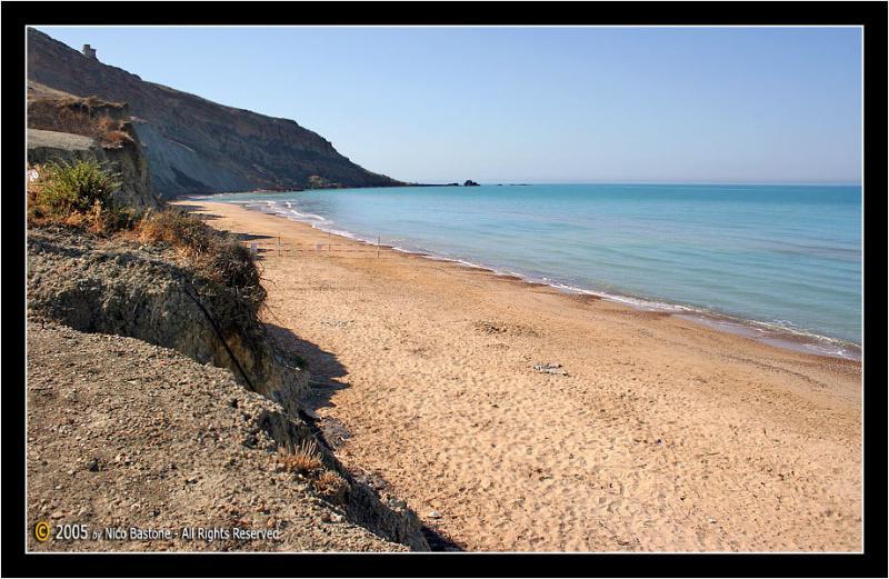 Spiaggia con sabbia
