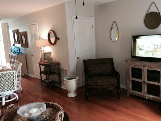 TV ROOM AND HALLWAY
