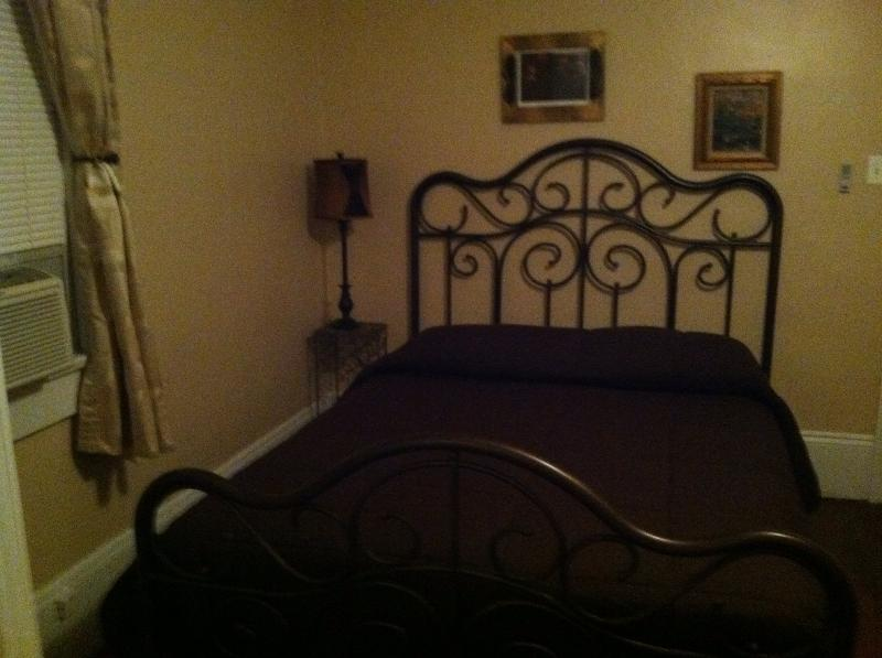 Back bedroom with queen bed