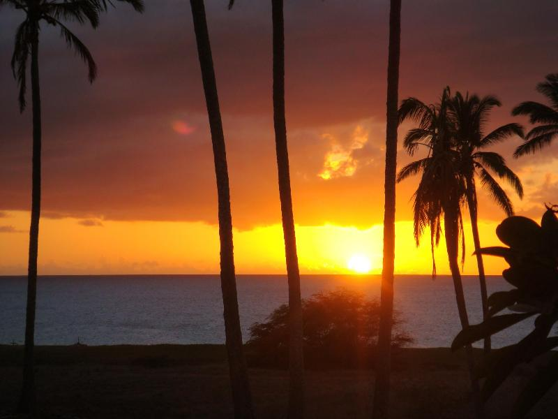Another wonderful sunset from the condo lanai