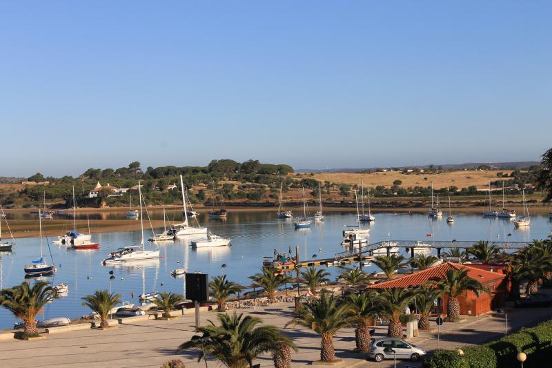 Alvor river estuary - view from the balcony